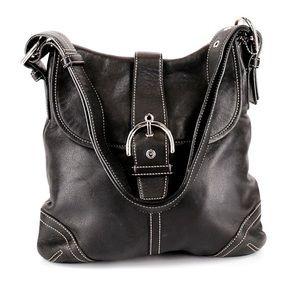 AUTHENTIC EUC VINTAGE COACH G3s-9481 Leather Hobo